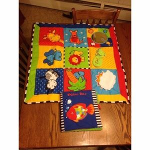 Other - Ocean Pals Play Mat with touch and feel book